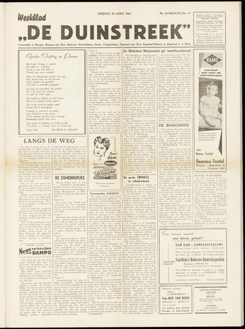 De Duinstreek 1962-04-20