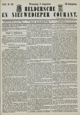 Heldersche en Nieuwedieper Courant 1870-08-03