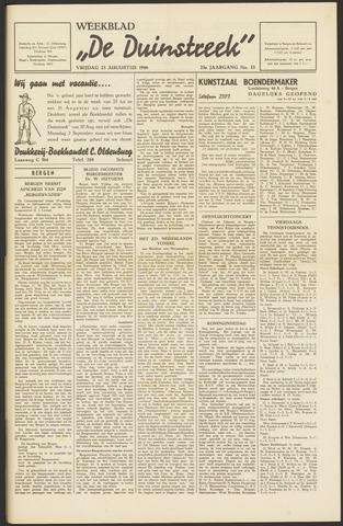 De Duinstreek 1946-08-23