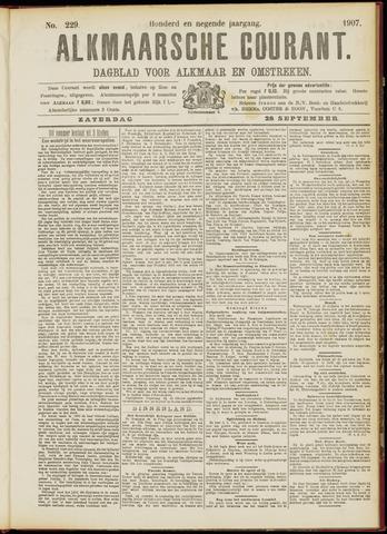 Alkmaarsche Courant 1907-09-28