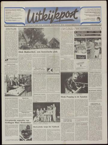 Uitkijkpost : nieuwsblad voor Heiloo e.o. 1992-11-18