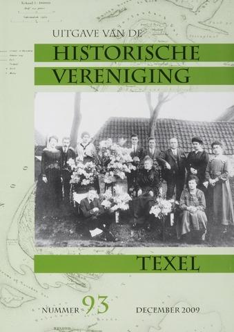 Uitgave Historische Vereniging Texel 2009-12-01