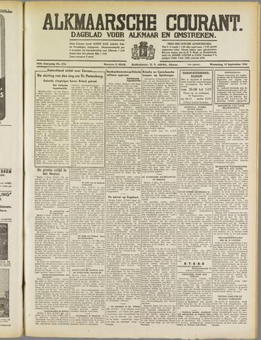 Alkmaarsche Courant 1941-09-10