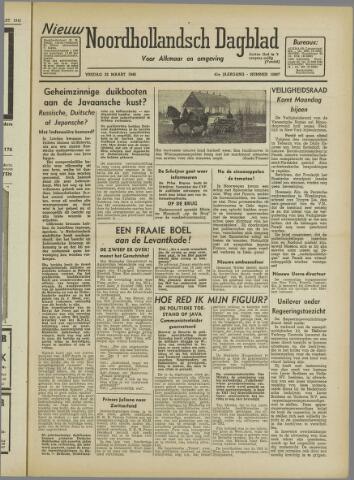 Nieuw Noordhollandsch Dagblad : voor Alkmaar en omgeving 1946-03-22