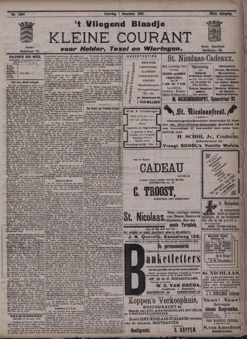 Vliegend blaadje : nieuws- en advertentiebode voor Den Helder 1900-12-01