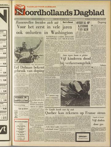 Noordhollands Dagblad : dagblad voor Alkmaar en omgeving 1967-08-01