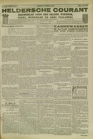 Heldersche Courant 1931-02-17