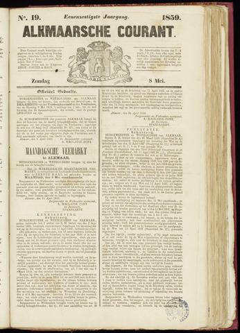 Alkmaarsche Courant 1859-05-08