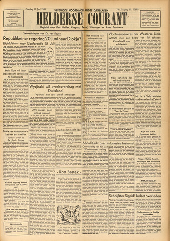 Heldersche Courant 1949-06-11