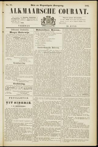 Alkmaarsche Courant 1891-07-24