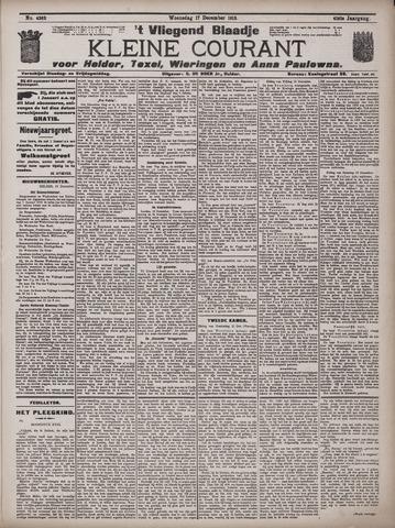 Vliegend blaadje : nieuws- en advertentiebode voor Den Helder 1913-12-17