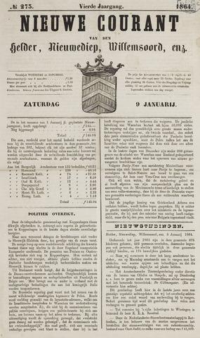 Nieuwe Courant van Den Helder 1864-01-09