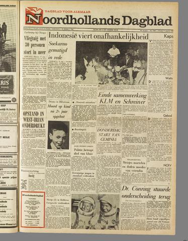 Noordhollands Dagblad : dagblad voor Alkmaar en omgeving 1965-08-17