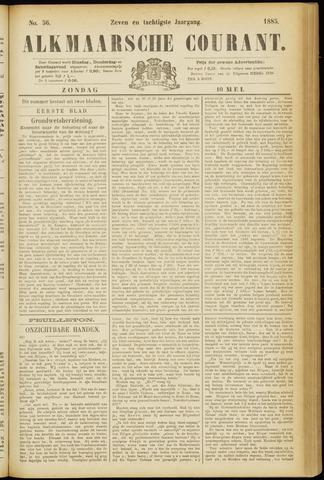 Alkmaarsche Courant 1885-05-10