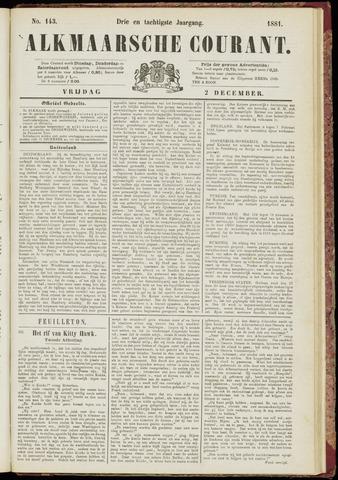 Alkmaarsche Courant 1881-12-02