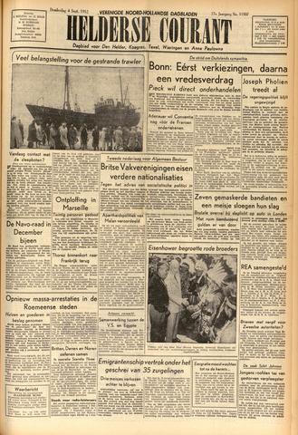 Heldersche Courant 1952-09-04