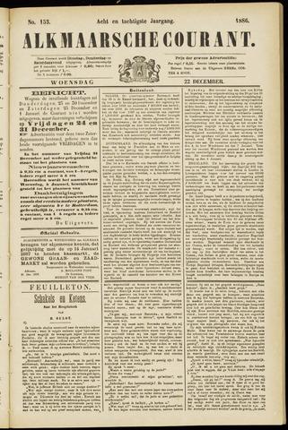Alkmaarsche Courant 1886-12-22