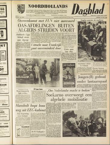 Noordhollands Dagblad : dagblad voor Alkmaar en omgeving 1962-06-19