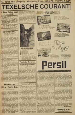 Texelsche Courant 1935