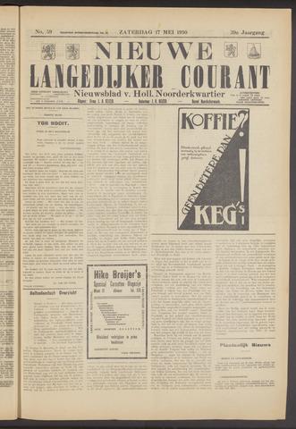 Nieuwe Langedijker Courant 1930-05-17