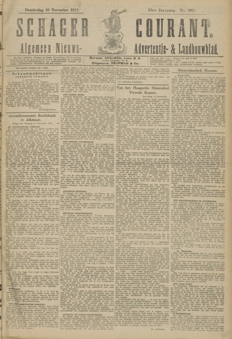 Schager Courant 1911-11-16