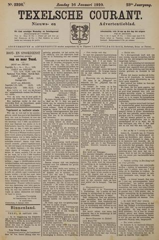 Texelsche Courant 1910-01-16