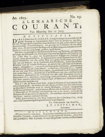 Alkmaarsche Courant 1803-06-20