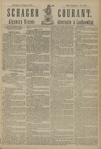 Schager Courant 1911-02-21