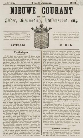 Nieuwe Courant van Den Helder 1862-05-31