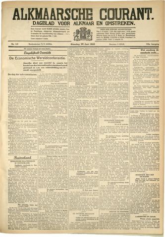Alkmaarsche Courant 1933-06-20