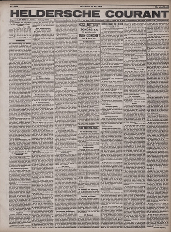 Heldersche Courant 1918-05-25