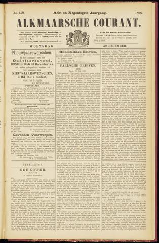 Alkmaarsche Courant 1896-12-30
