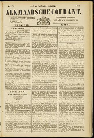Alkmaarsche Courant 1886-06-16