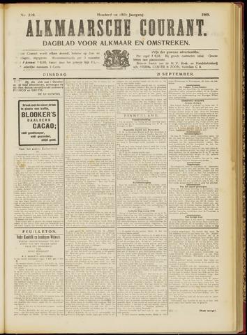 Alkmaarsche Courant 1909-09-21
