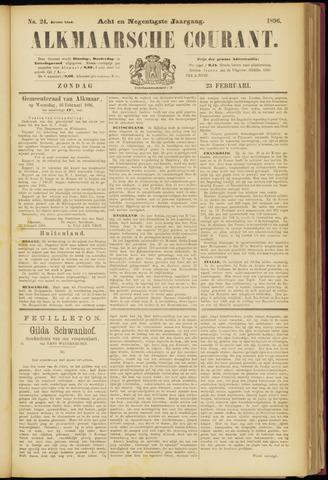 Alkmaarsche Courant 1896-02-23