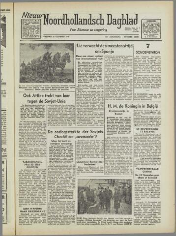 Nieuw Noordhollandsch Dagblad : voor Alkmaar en omgeving 1946-10-25