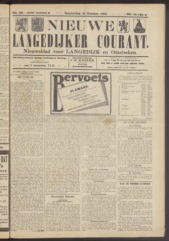 Nieuwe Langedijker Courant 1924-10-16