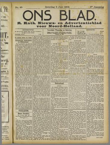 Ons Blad : katholiek nieuwsblad voor N-H 1909-06-05