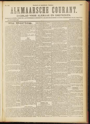 Alkmaarsche Courant 1917-10-18