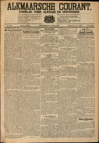 Alkmaarsche Courant 1930-07-03
