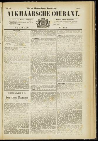 Alkmaarsche Courant 1893-05-17
