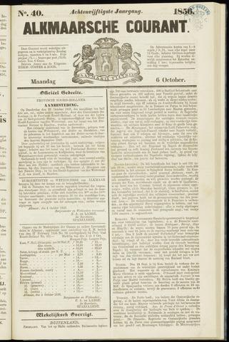 Alkmaarsche Courant 1856-10-06