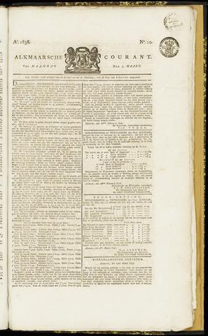 Alkmaarsche Courant 1838-03-05