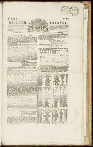 Alkmaarsche Courant 1844-01-08