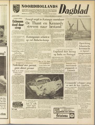 Noordhollands Dagblad : dagblad voor Alkmaar en omgeving 1961-12-15