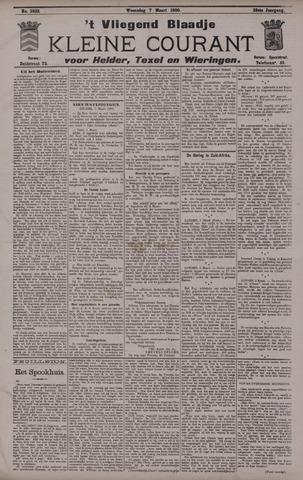 Vliegend blaadje : nieuws- en advertentiebode voor Den Helder 1900-03-07