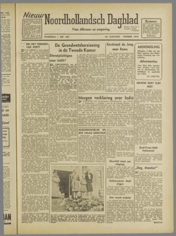 Nieuw Noordhollandsch Dagblad : voor Alkmaar en omgeving 1946-05-01