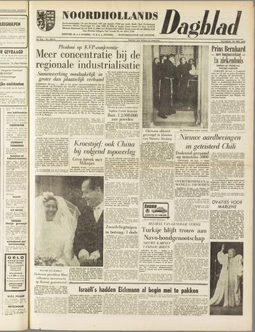 Noordhollands Dagblad : dagblad voor Alkmaar en omgeving 1960-05-30