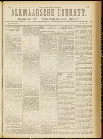 Alkmaarsche Courant 1918-03-30