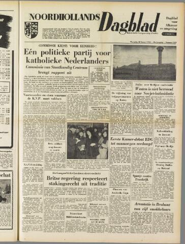 Noordhollands Dagblad : dagblad voor Alkmaar en omgeving 1954-01-20